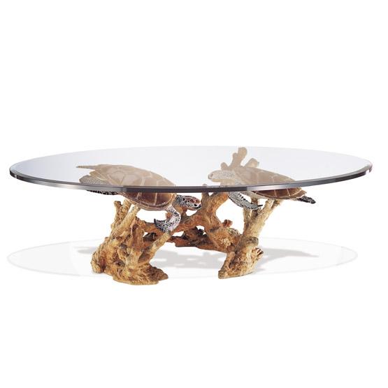 Turtle Reef Coffee Table Wyland Worldwide